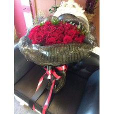 100 Red Rose Bouquet