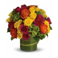 Cylinder Roses Bouquet