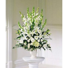 White Arrangement Vase