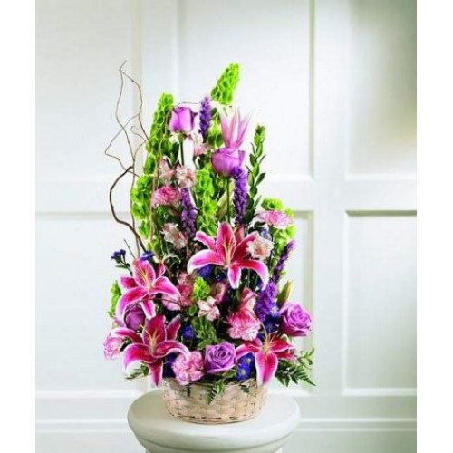Mixed-Vase Arrangement