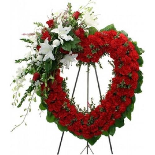 Crowned Rose Wreath