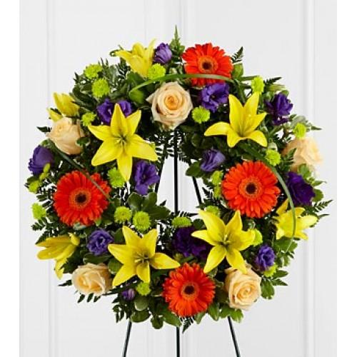 Sun-ray Wreath